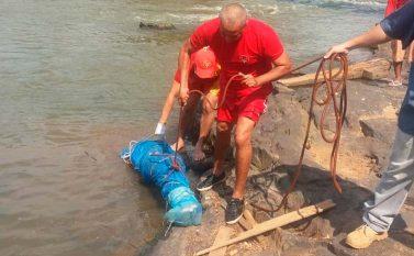 Corpo é encontrado amarrado com pedras no fundo do Rio Parauapebas