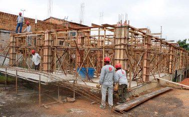 Construção da nova lavanderia do Hospital Municipal de Marabá vai ampliar leitos da Unidade de Cuidados Especiais