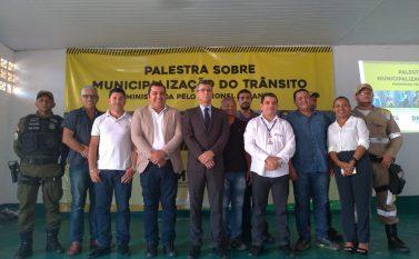 Palestra esclarece dúvidas da população sobre municipalização do trânsito em Curionópolis