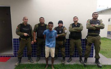 Polícia Militar prende autor de latrocínio em Jacundá