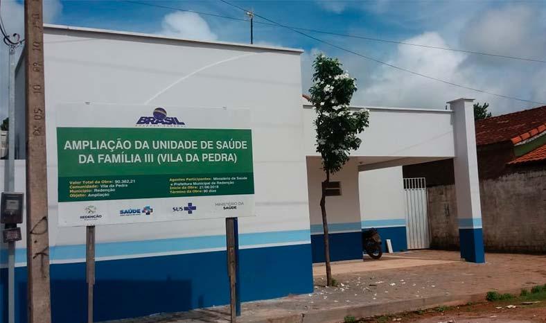 Obras de Unidade de Saúde estão paralisadas há oito meses em Redenção