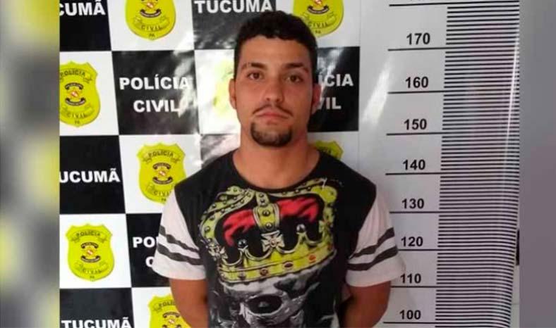 Preso em Tucumã homem que matou mototaxista em Parauapebas