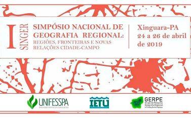IETU: Unifesspa vai promover I Simpósio Nacional de Geografia Regional