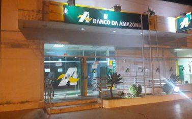 PM frustra tentativa de furto ao Banco da Amazônia em Canaã