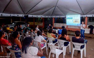 Microempreendedores de Tucuruí são orientados sobre os benefícios de ser MEI