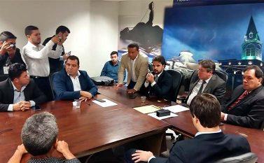 Comitiva de Curionópolis vai à Alepa e pede continuidade do Serra Leste
