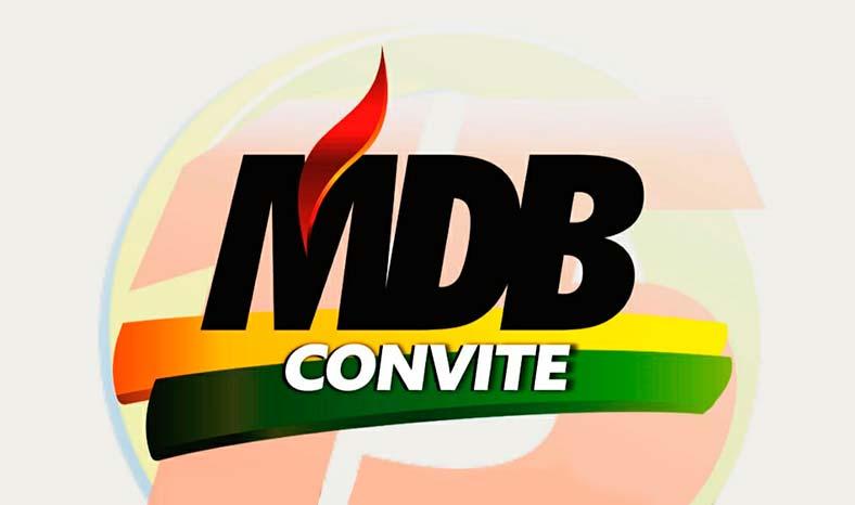 Convenção Municipal do MDB em Marabá reunirá as maiores lideranças da sigla