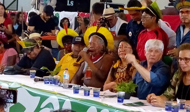 Ato em Defesa da Amazônia reúne povos indígenas e lideranças em Marabá
