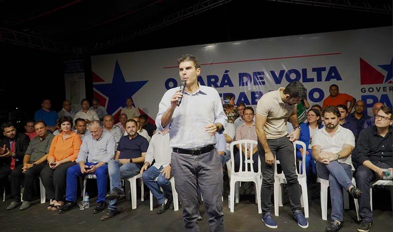 """Em Marabá, Helder """"mima"""" Toni Cunha e deputado pode ser o candidato a prefeito do governo em 2020"""