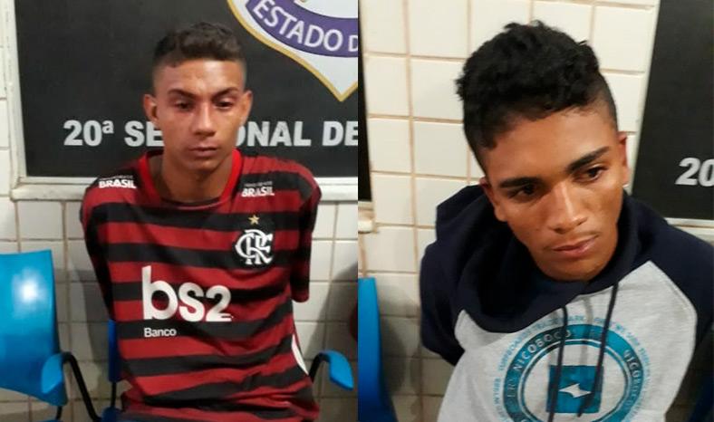 PM prende dupla de assaltantes que invadiu casa no Cidade Jardim