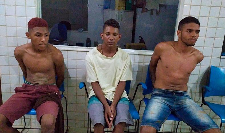 Polícia Militar manda para a cadeia mais um trio de assaltantes em Parauapebas