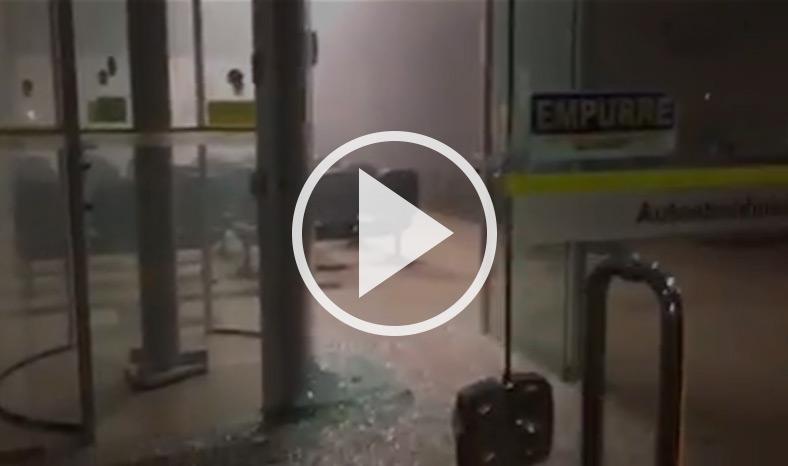 VÍDEO: quadrilha assalta agência bancária durante a madrugada em Jacundá