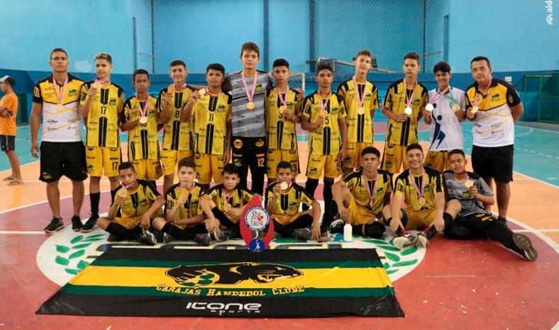 Neste final de semana a equipe do Carajás Handebol garantiu mais um troféu para sua galeria
