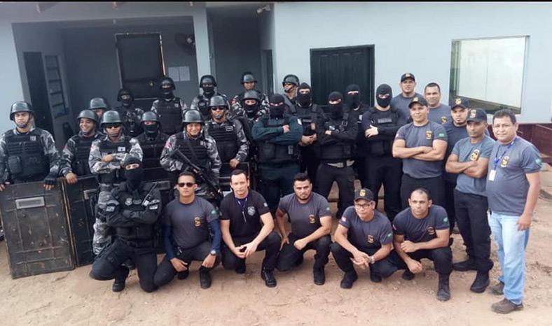 Operação encontra objetos proibidos no Presídio de Tucuruí