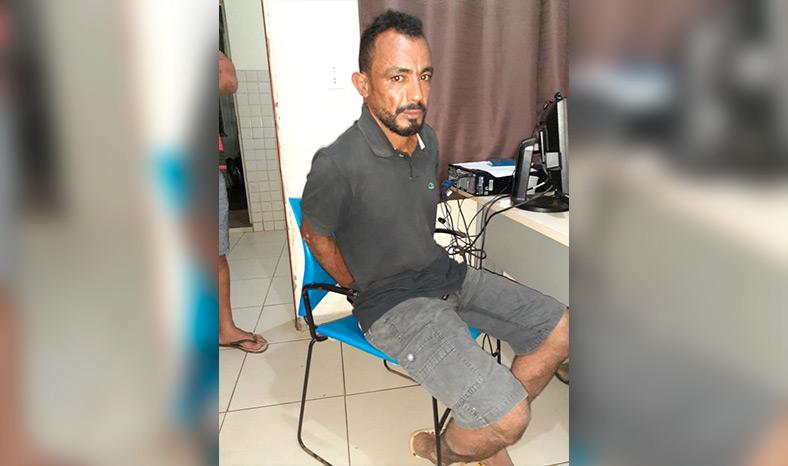 Preso homem que cometeu homicídio na Serra do Cedro no ano passado - Blog do Zé Dudu