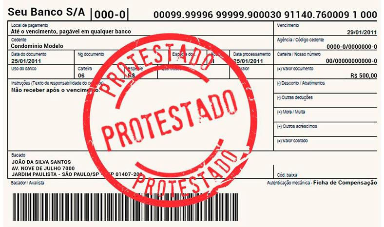 Protesto gratuito para credores facilita recebimento de dívidas