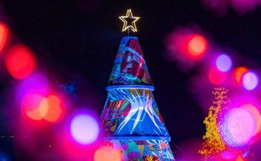 Decoração e luzes especiais enfeitam Brasília para as festas de final de ano