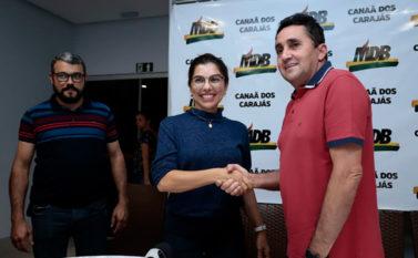 Josemira Gadelha é a candidata de Jeová Andrade nas eleições de 2020 em Canaã dos Carajás