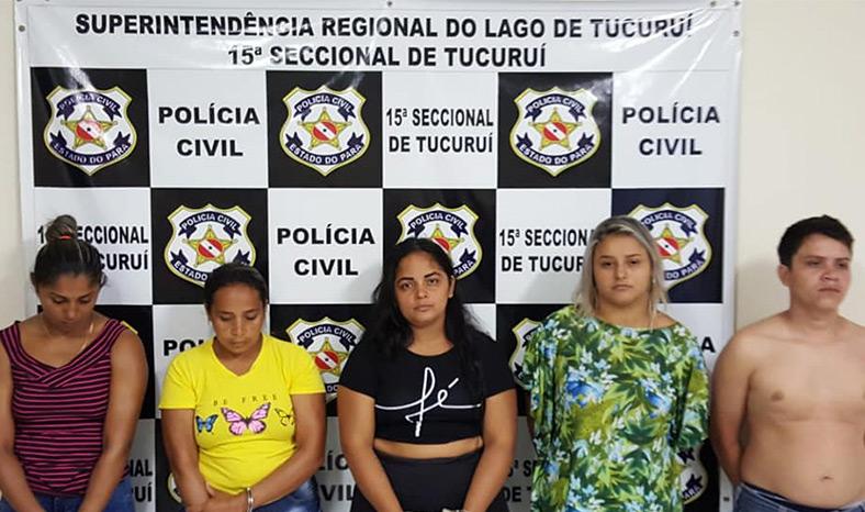 Operação Fauda, da Polícia Civil prende 10 pessoas na Região do Lago de Tucuruí