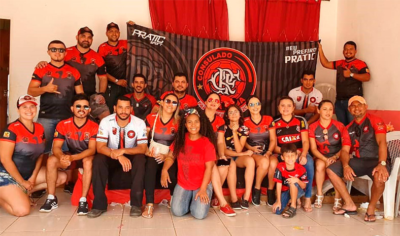 Primeiro consulado oficial do Flamengo, no Pará, nasceu em Parauapebas
