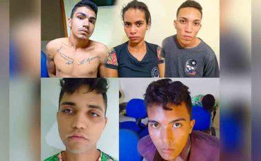 Quinteto vai passar o Natal na cadeia em Marabá