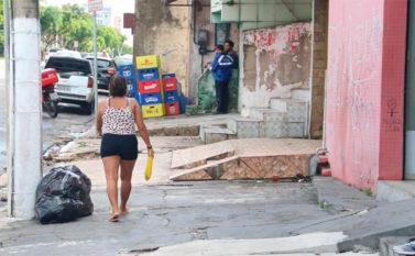 Belém é a capital com as piores calçadas do Brasil