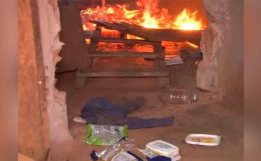 Casa em que criança foi assassinada destruída em incêndio criminoso