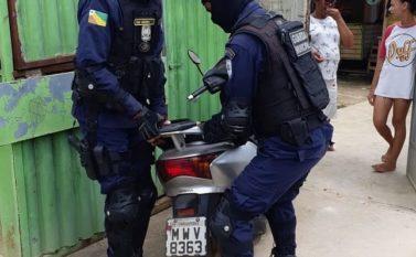 Equipe da Guarda Municipal de Parauapebas recupera carro e moto roubados
