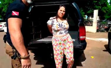 """Polícia prende criminosa considerada """"primeira dama"""" do PCC em Parauapebas"""