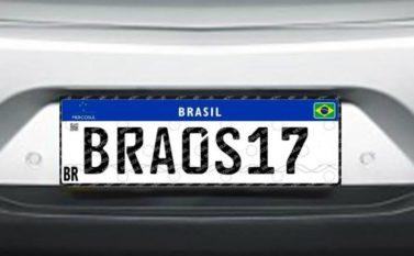 Após seis adiamentos, placa do Mercosul será obrigatória em fevereiro