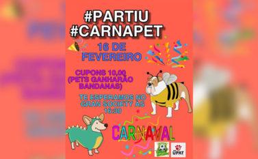 """""""Carnapet"""" acontece no próximo domingo em Tucuruí"""