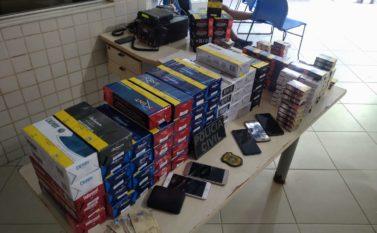 Polícia Civil encontra esconderijo de assaltantes de revendedor de cigarros