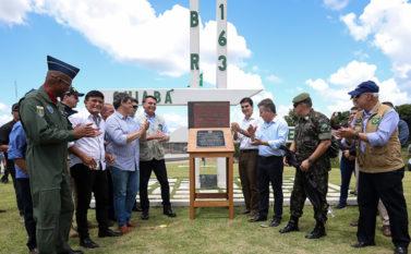 Governo conclui obras de pavimentação da BR-163 entre Pará e Mato Grosso