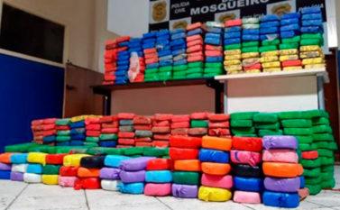 Polícia Civil do Pará realiza a maior apreensão de cocaína já registrada