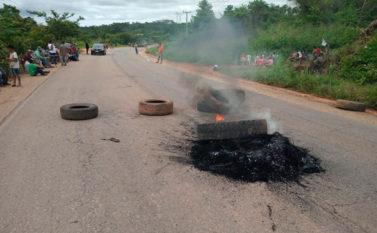 Rodovia de acesso à Mina do Sossego é liberada depois de 15 horas de protesto