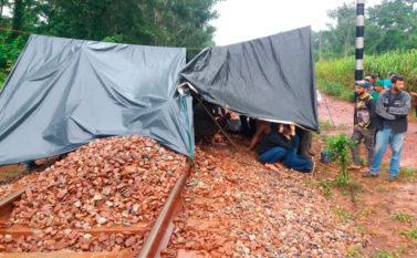 Associação bloqueia Ramal Ferroviário S11D, da Vale