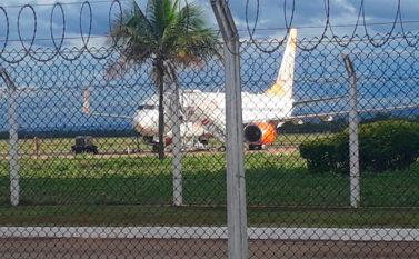 Avião faz pouso não programado em Palmas após passageira passar mal e morrer