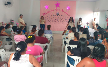 Evento do Cras Norte reúne mais de 40 mulheres em Conceição do Araguaia