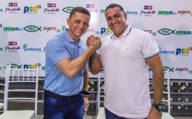 Vereador Gesiel Ribeiro é o vice de Jean Carlos para disputar as eleições em Canaã dos Carajás