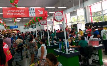 Inauguração de supermercado em Conceição do Araguaia gera mais de 100 vagas de emprego