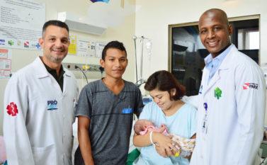 Nasce o primeiro bebê de paciente transplantada no Hospital Regional de Santarém