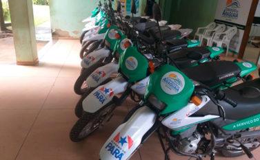 Prefeitura de Conceição do Araguaia recebe doação de motos