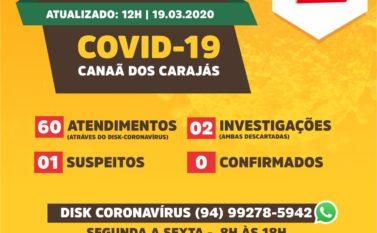 Disk Coronavírus realiza 60 atendimentos em menos de 24 horas em Canaã dos Carajás