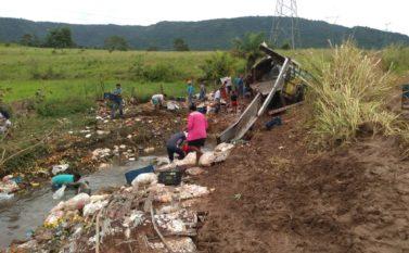 Motorista de caminhão morre depois de cair em ribanceira na PA 160 em Canaã dos Carajás
