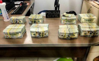 PF investiga ligação entre rede de narcotráfico e apreensão de U$ 1 milhão em avião no Pará