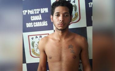 Vítima identifica placa da moto usada em assalto e dupla vai parar na cadeia em Canaã
