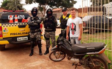 Após denúncia, Detran e Polícia Militar recuperam moto furtada em Conceição do Araguaia