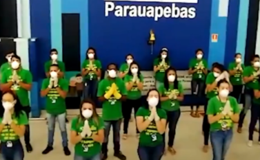 Luciano Hang, da Havan, reabre loja no Pará e diz que funcionários fizeram oração para agradecer