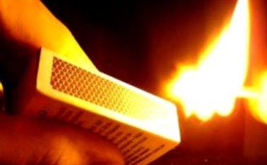 Embriagada, mulher ateia fogo no companheiro em Conceição do Araguaia