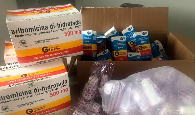 Conceição do Araguaia recebe 150 kits de medicamentos para tratamento da Covid-19